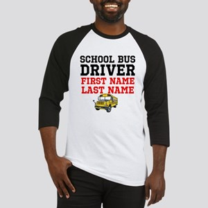 School Bus Driver Baseball Jersey